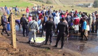 Cultivos, Tomas clandestinas, Puebla, Huachicoleros, Robo de combustible