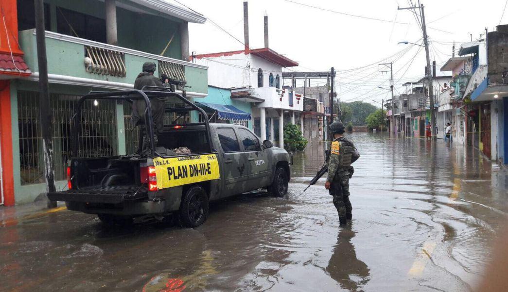 Ejército, Plan DN-III, lluvias, inundaciones, Tabasco, Lluvias en Tabasco