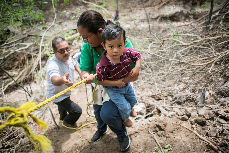 Afectados por Beatriz en Oaxaca