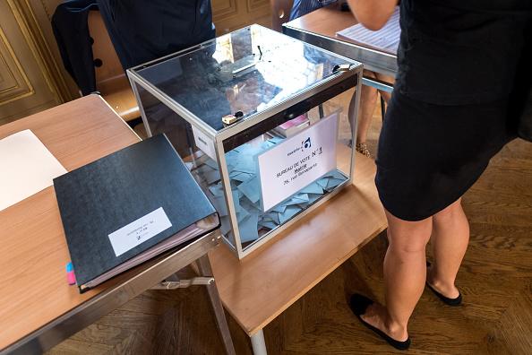 votación, elecciones, francia, voto, emmanuel macron