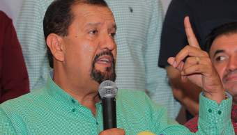 """Manuel Cota Jiménez, candidato de la coalición """"Nayarit de Todos"""", conformada por el PRI, PVEM y Nueva Alianza (Notimex)"""