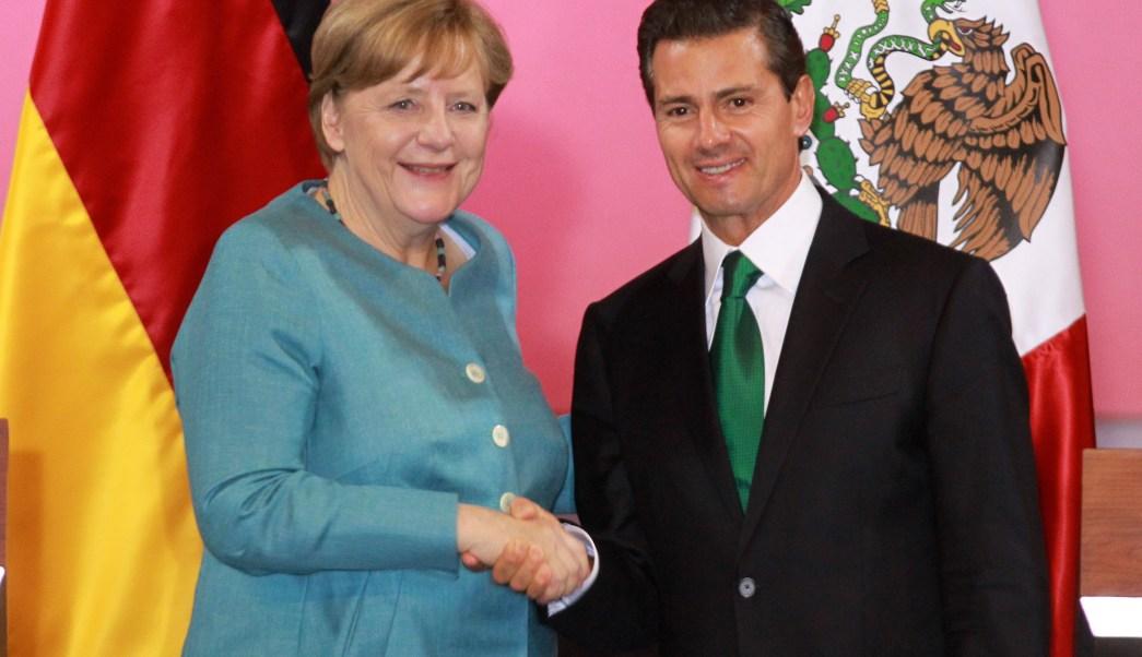 EPN, Angela Merkel, canciller, Alemania, México, visita oficial