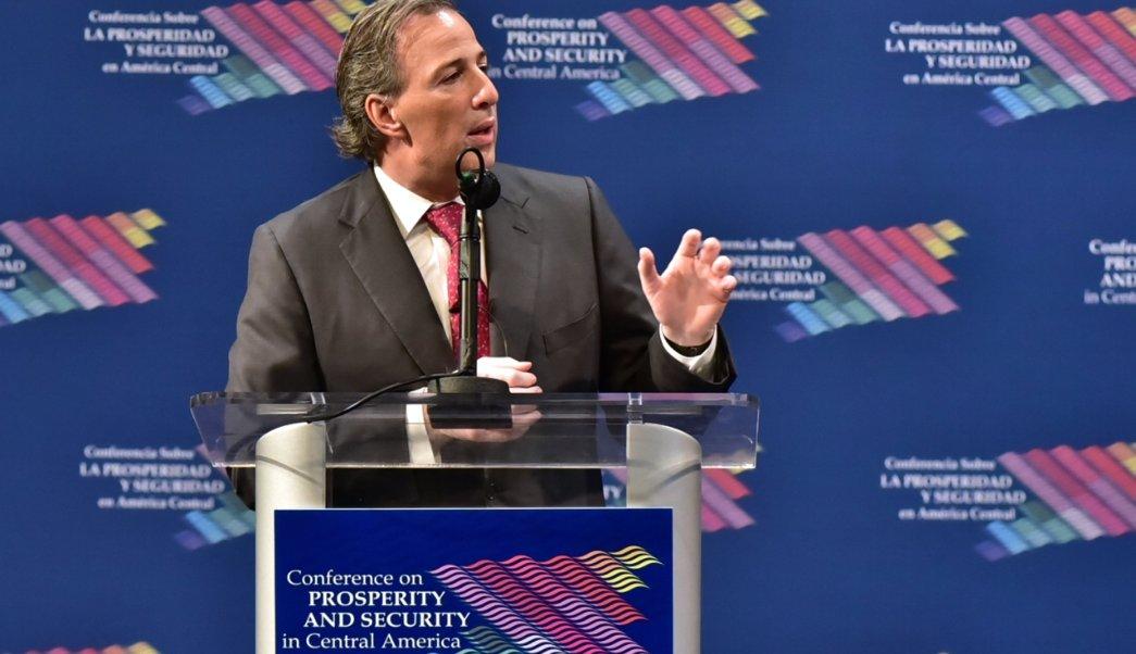 José Antonio Meade, secretario de Hacienda y Crédito Público.