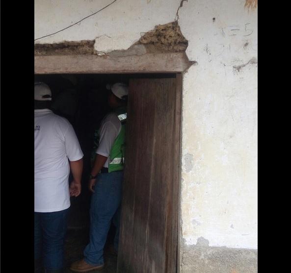Sedatu, Daños, Chiapas, Sismo, Daños por sismo, Sismo en Chiapas