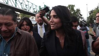 Alejandra Barrales presidenta del PRD Nacional