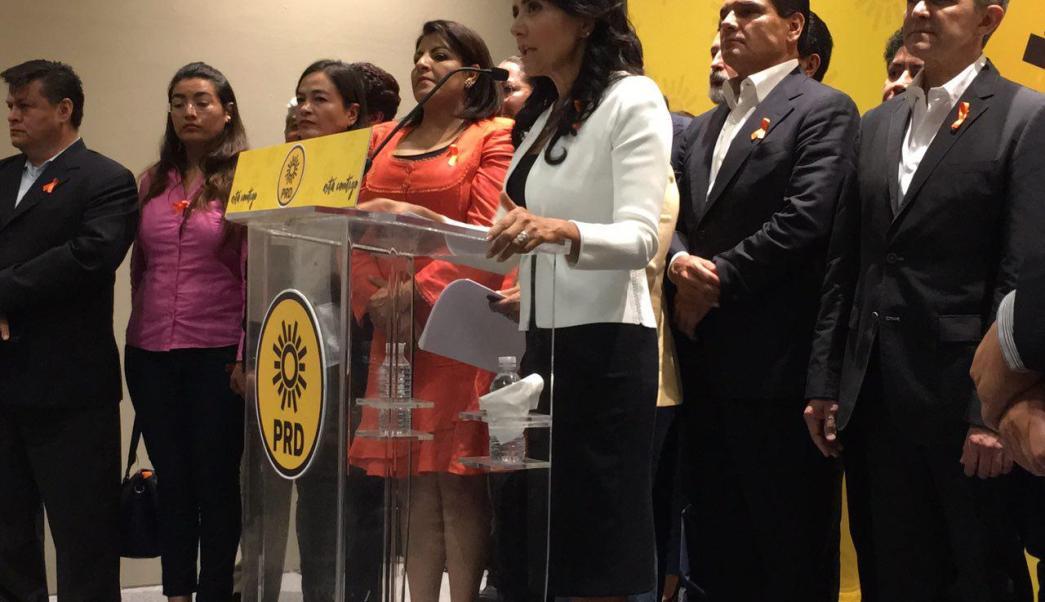 Alejandra Barrales, Elecciones 2018, Frente Amplio Opositor, PRI, PRD, Partido Politico, PAN, Morena, AMLO, Noticias, Televisa, Televisa News