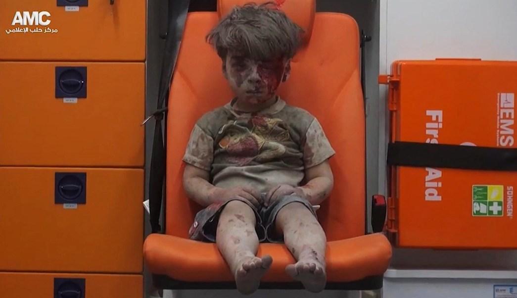 Omran Daqneesh, Bashar Al Ásad, Siria, Alepo