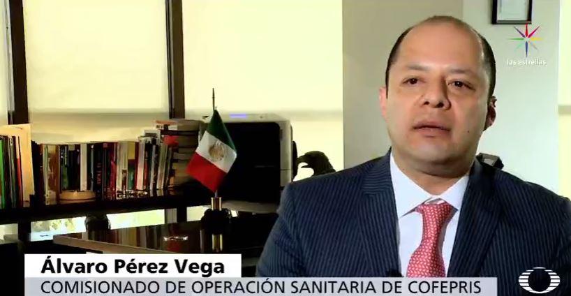 Álvaro Pérez Vega, comisionado de operaciones de Cofepris