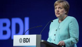 Angela Merkel, canciller de Alemania AP