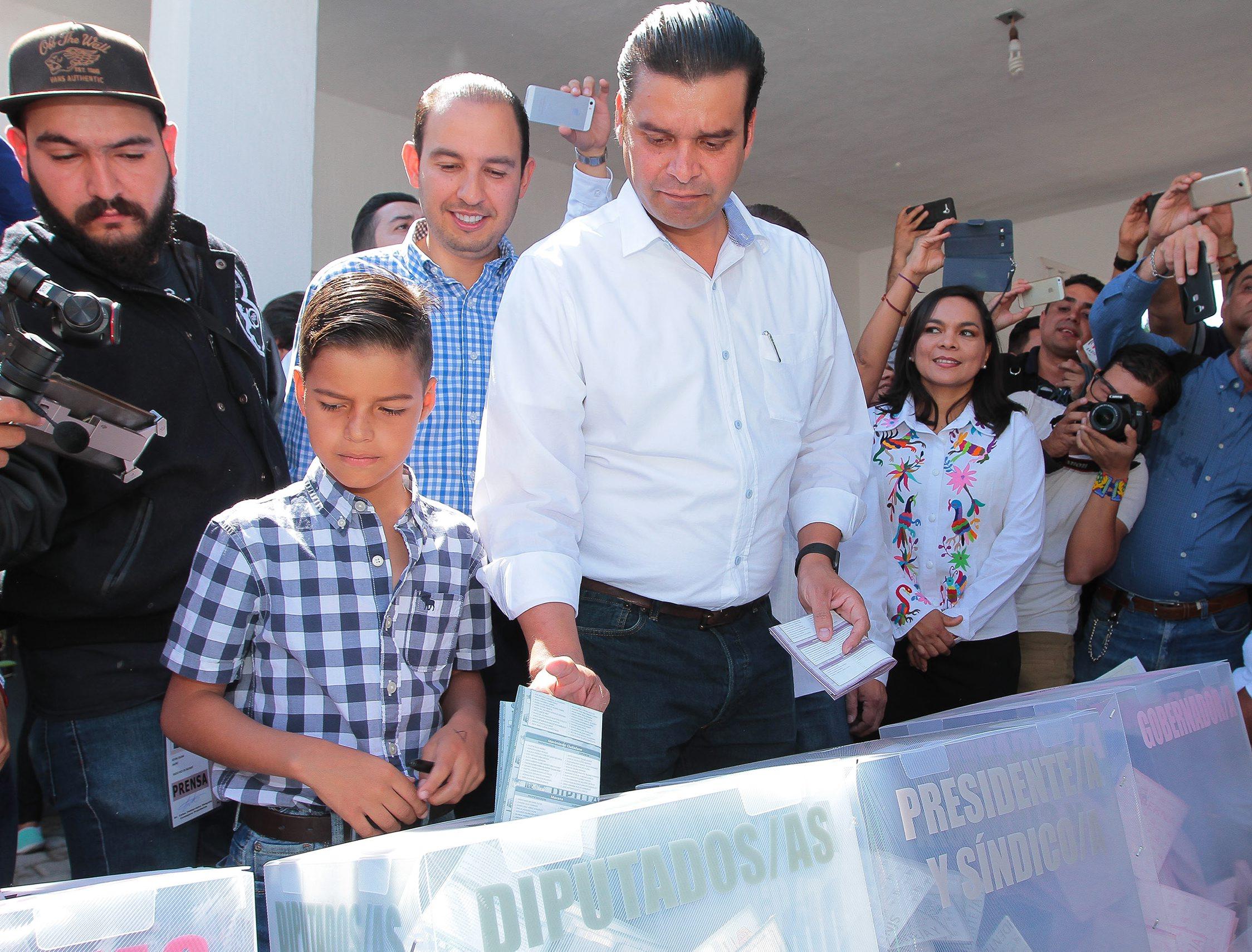 Antonio Echevarría, candidato a la gubernatura de Nayarit por la Coalición Juntos por Nayarit. (Notimex)