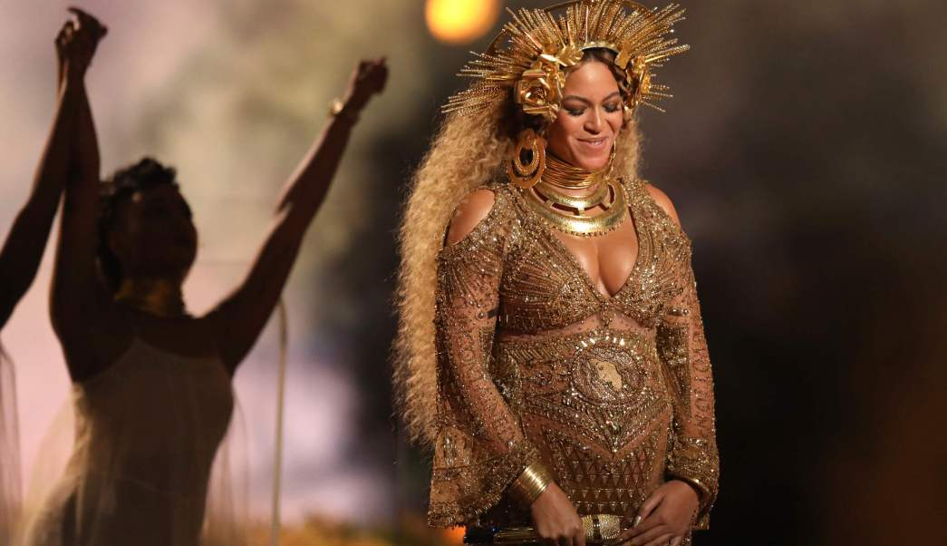Beyonce, premios Grammy, Los Ángeles, Embarazada