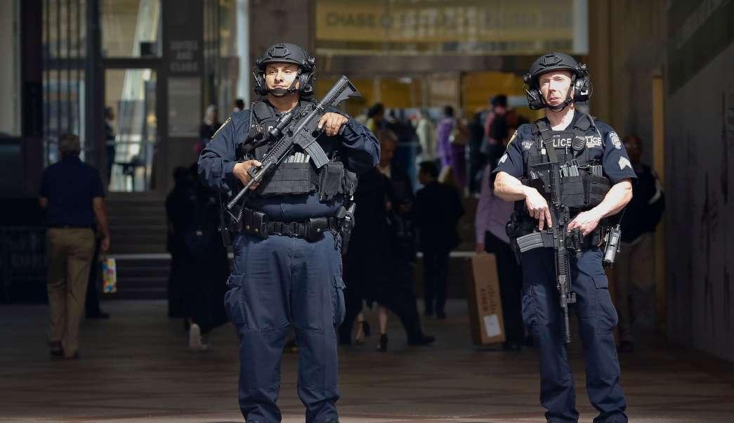 Unidad antiterrorista, Policía de Nueva York, Madison Square Garden, estados unidos