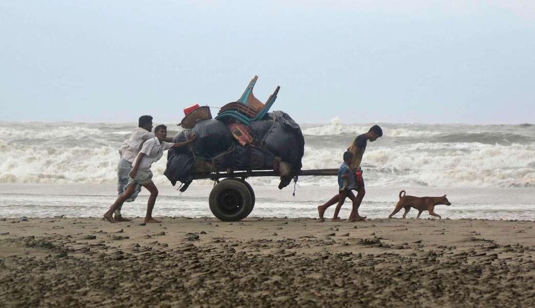 Ciclón Mora, Tormenta Tropical, Bangladesh, islas, costa oeste de Bangladesh