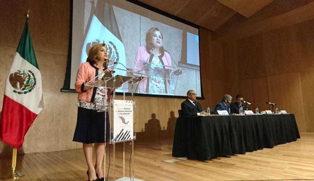 Secretaria De La Funcion Publica, Arely Gomez, Primera Reunion Plenaria, Sistema Nacional Fiscalizacion