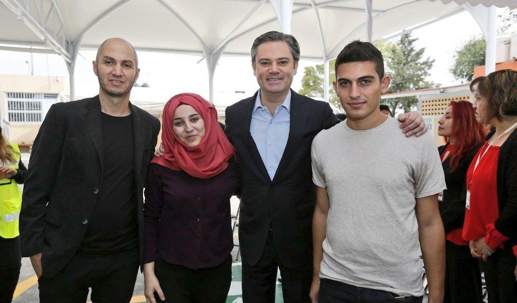 Aurelio Nuño, estudiantes sirios, refugiados, educación, Magdalena Contreras, SEP