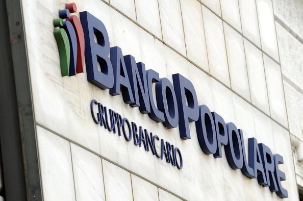 Oficinas generales del Banco Popolare, que será rescatado