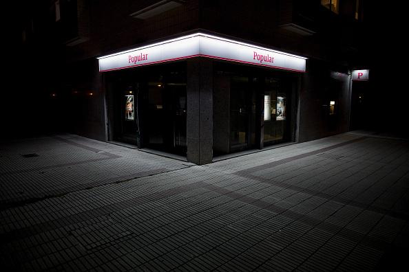 El BCE activó el rescate del español Banco Popular