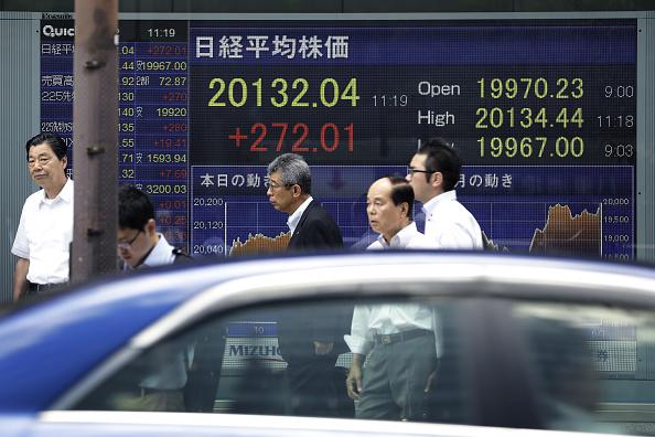 La Bolsa de Tokio cerró operaciones con cifras positivas