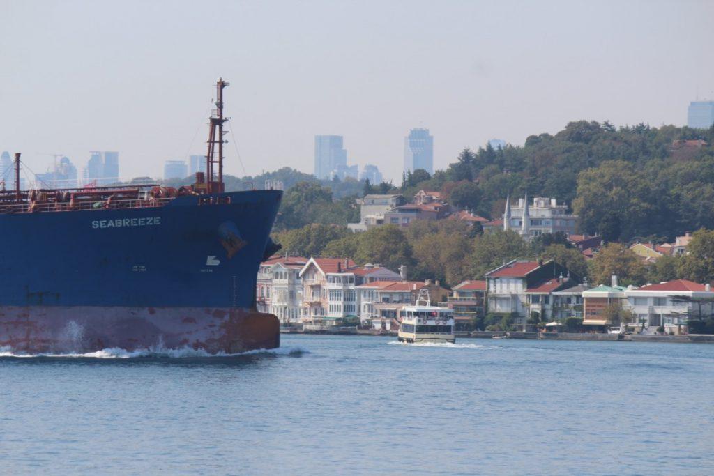Bosforo río que divide Estambul