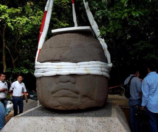 Reubican, Cabeza colosal olmeca, Museo la Venta, Tabasco, Cultura, Clima