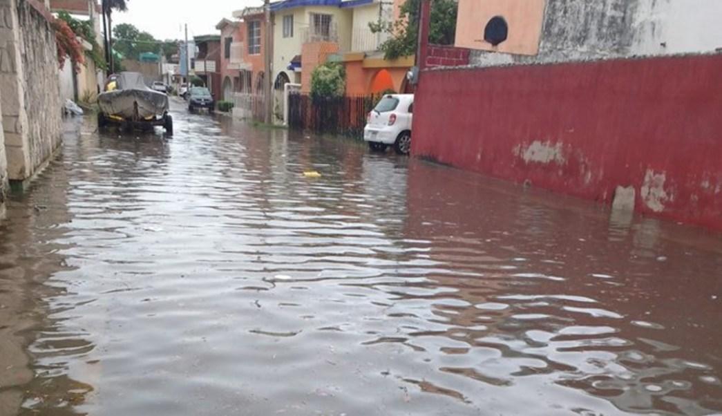 En dos días se registraron 75 milímetros de lluvias en Campeche. (Twitter: @ExpresoCampeche/Archivo)