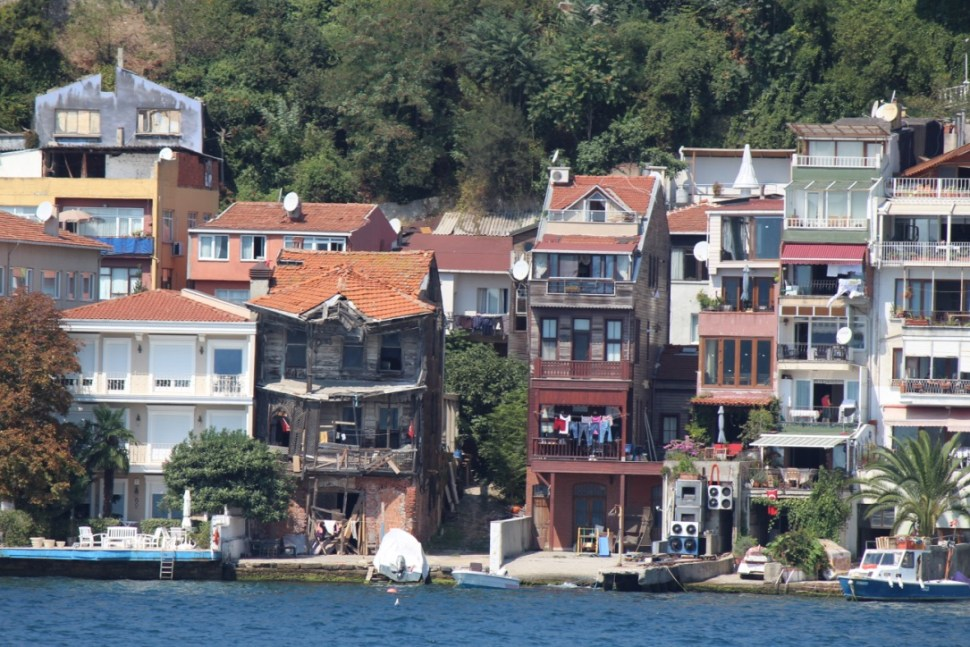 Casas de Estambul que son descritas por Pamuk
