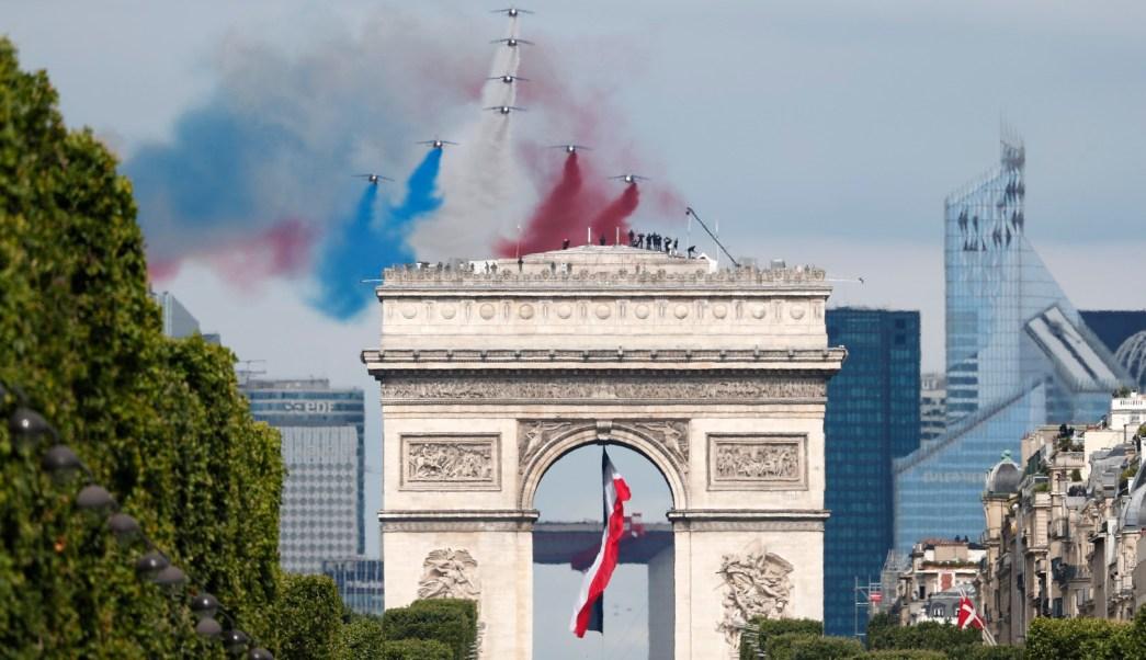 Celebraciones del Día de la Bastilla en Francia