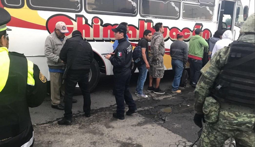 Detienen, Personas, Chimalhuacan, Edomex, Seguridad, Violencia