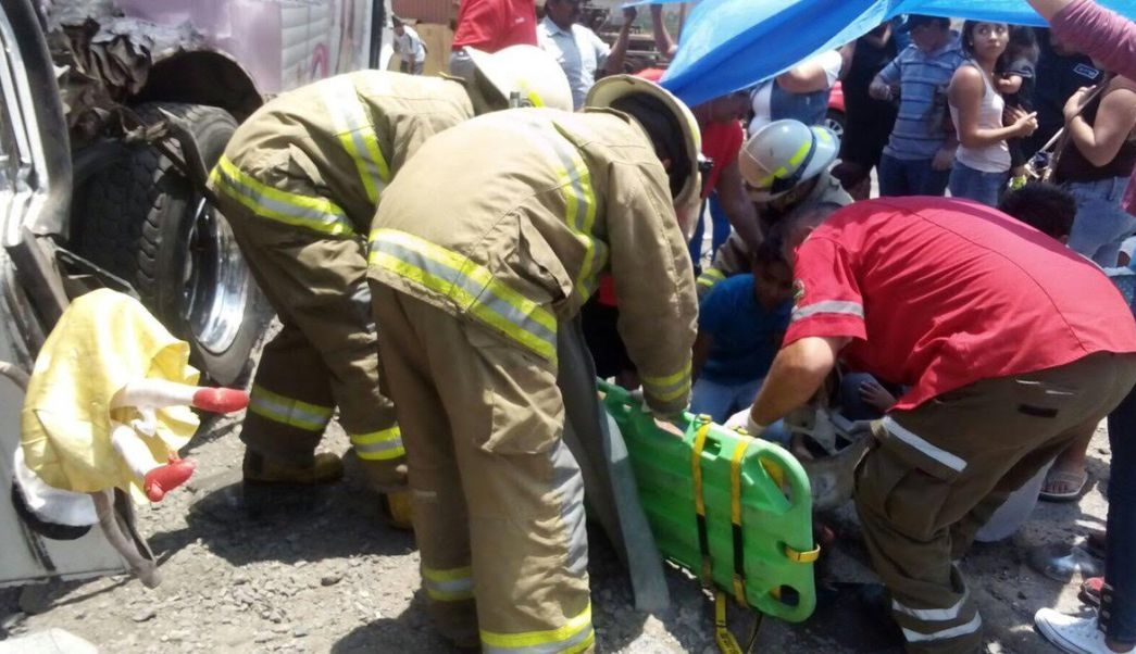 Accidente Entre Camion Urbano Pasajeros, Jalisco, Ferrocarril, Accidentes Viales, Lesionados, Camino, El Verde, El Salto, Noticias, Noticieros, Televisa News