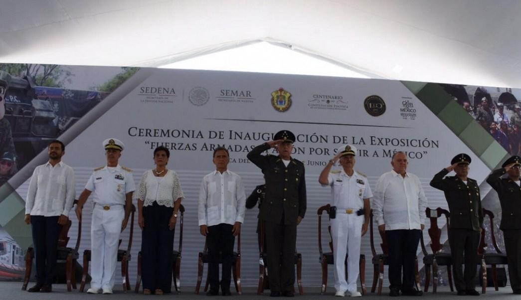 Salvador cienfuegos, Inseguridad, Veracruz, Ejercito mexicano