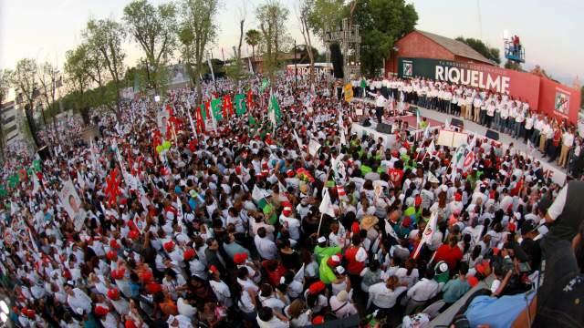 Cierre de campaña de Miguel Riquelme en Coahuila