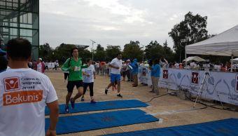 Jóvenes rehabilitados participan en Carrera contra las Adicciones