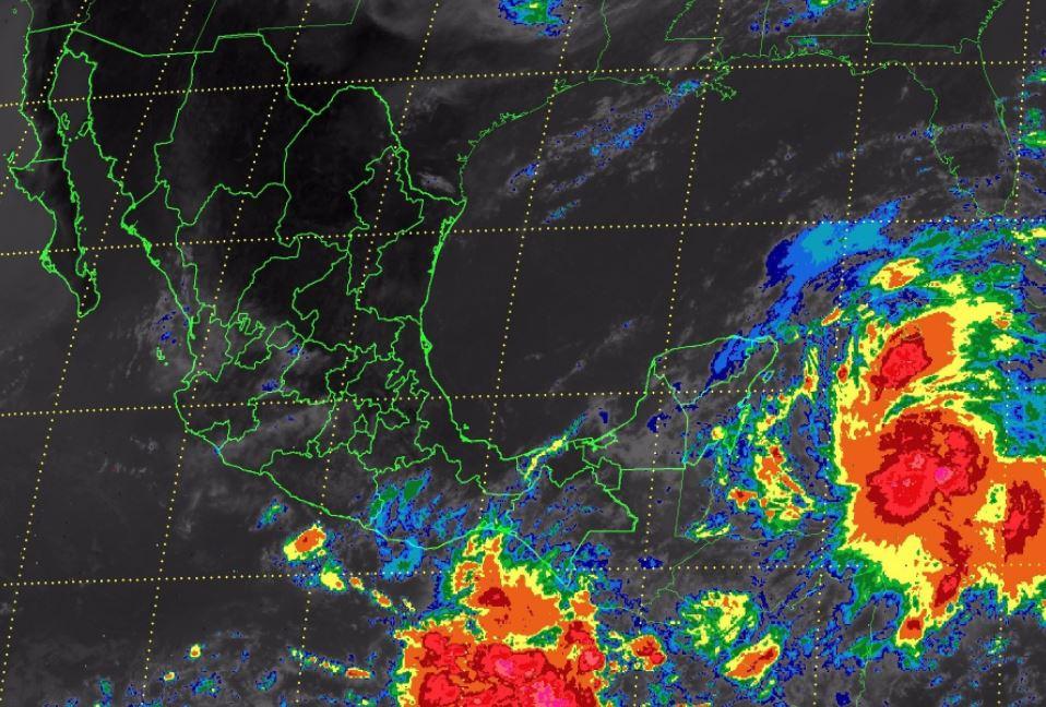 Pronostican lluvias, en noreste y sureste del país