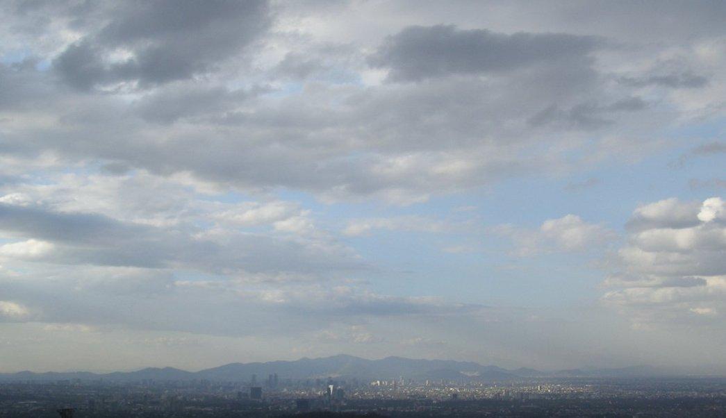 Clima nublado en la Ciudad de México