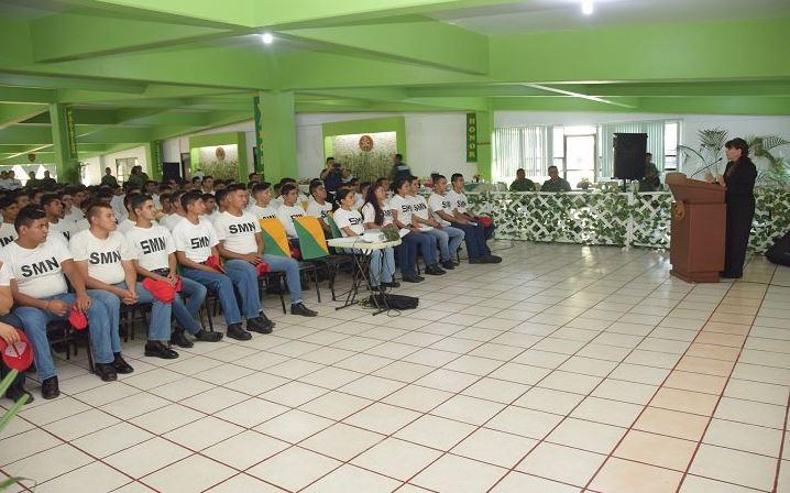 CNDH imparte curso sobre Derechos Humanos a conscriptos del Servicio Militar