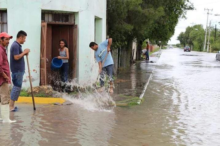 Clima, LLUVIAS, cOAHUILA, ENCHARCAMIENTOS, AFECTACIONES, PROTECCIÓN CIVIL