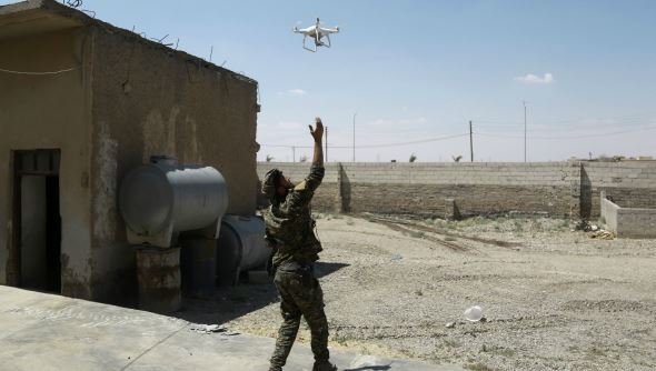 coalicion anuncia derribo de dron de las fuerzas pro al assad en siria