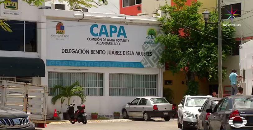 Edificio de la Comisión de Agua de Quintana Roo