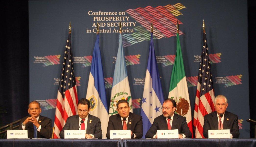Conferencia, Seguridad, Prosperidad, Centroamérica, Videgaray, Tillerson, SRE