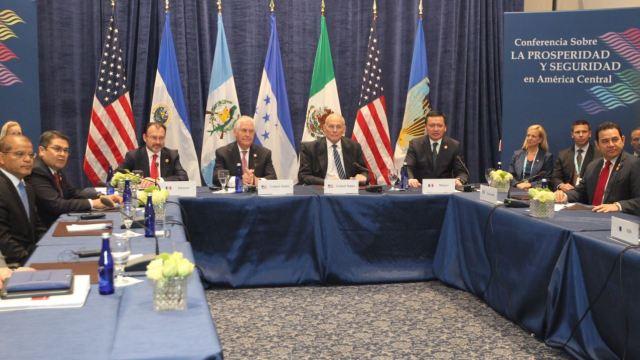 Impulsar, América Central, Desarrollo, México , Luis Videgaray, Gobernación, Relaciones Exteriores, Seguridad