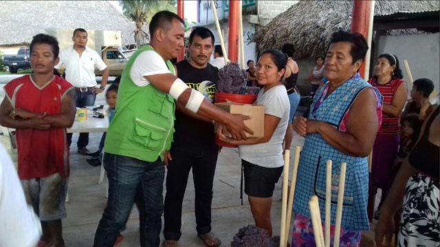 proteccion civil de chiapas entrega ayuda a la poblacion