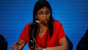 Maduro, canciller, OEA, Venezuela, Delcy Rodríguez, política,