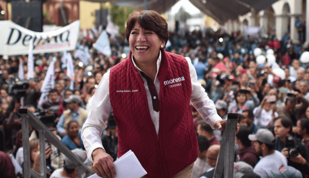 Delfina Gómez, candidata de Morena