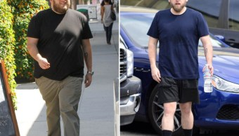 El actor Jonah Hill se sometió a dieta y dejó la cerveza para adelgazar (Foto: Express)