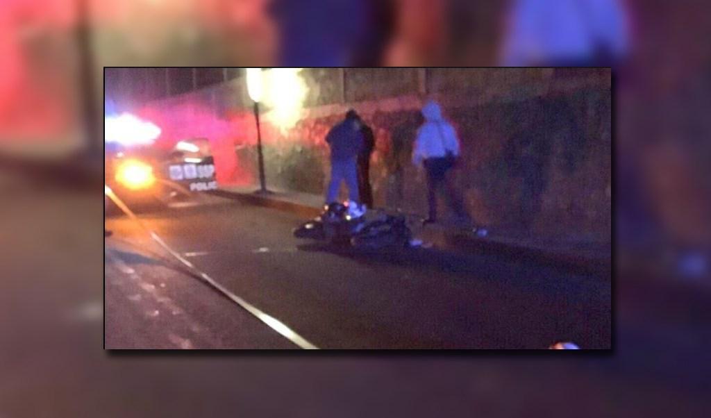os muertos por derrape de moto en alvaro obregon