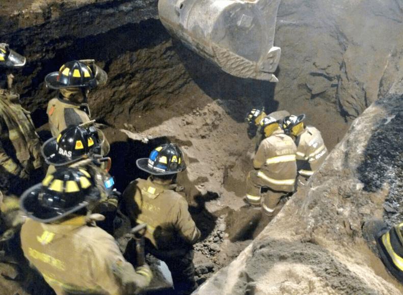 Derrumbe en ampliación de la Línea 12 del Metro CDMX