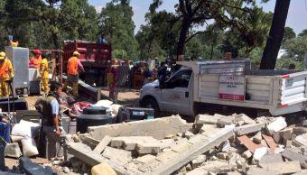 Desalojo en Ajusco, Gobierno, CDMX, viviendas, Ajusco, Desalojo, Área Natural Protegida