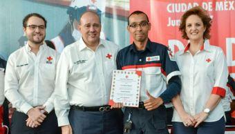 Cruz Roja Mexicana celebra día del socorrista