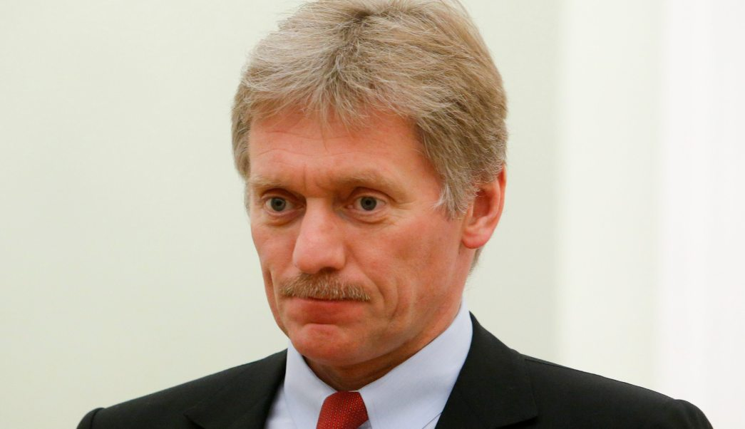 Dmitry Peskov, vocero del gobierno de Rusia