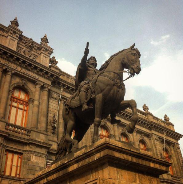 El Caballito, Manuel Tolsá, INAH, restauración, Carlos IV, Centro Histórico, CDMX